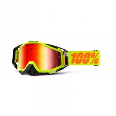Masque lunettes 100% Racecraft Néon Sign - écran miroir