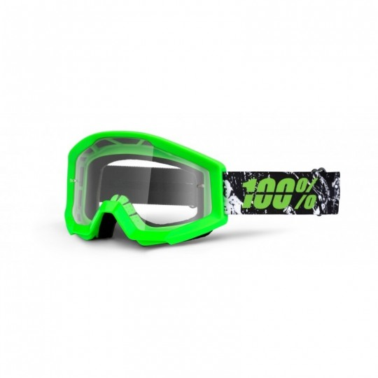 Masque 100% Strata Crafty Lime - Ecran transparent