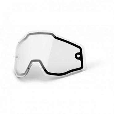 Ecran 100% antibué doublé et ventilé transparent  Accuri / Strata / Racecraft