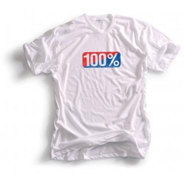 Tee shirt 100% Vintage white M