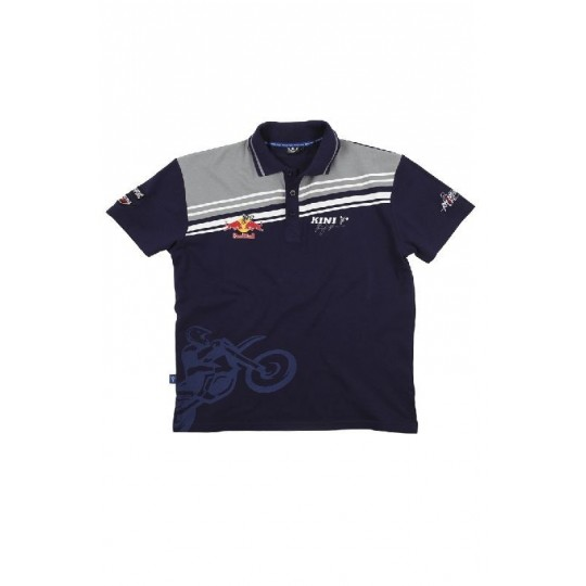 Polo Team Kini Red Bull Navy grey Taille XL